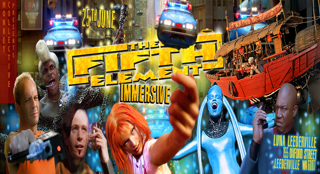 THE FIFTH ELEMENT IMMERSIVE