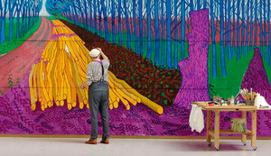 EOS: DAVID HOCKNEY AT THE ROYAL ACADEMY OF ARTS