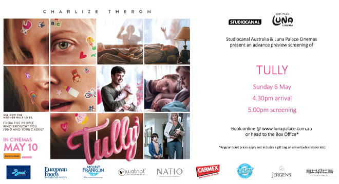 TULLY - Special Advance Preview Celebration