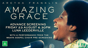 3153 AMAZING GRACE PREVIEW SCREENING EVENT