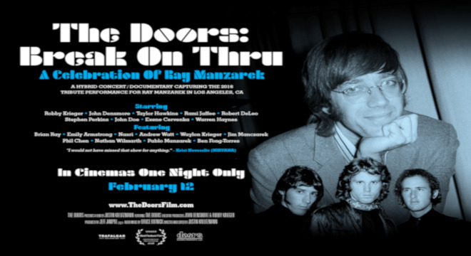 3401 THE DOORS: BREAK ON THRU - A CELEBRATION OF RAY MANZAREK