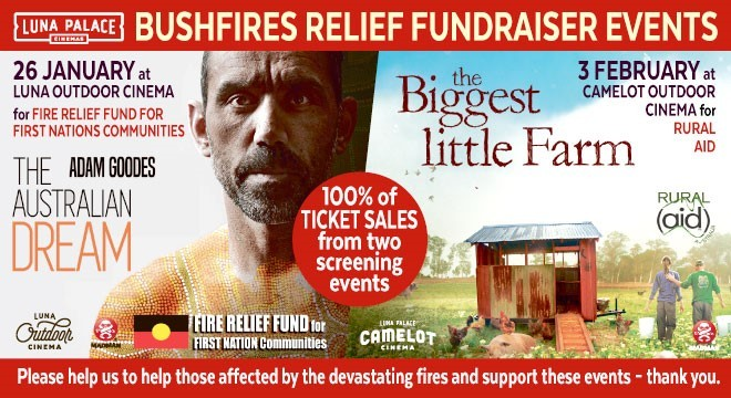 3424 BUSHFIRES RELIEF FUNDRAISER EVENTS