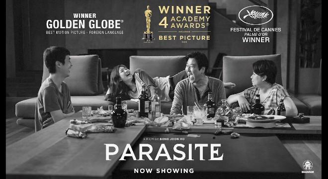 Parasite (B&W)