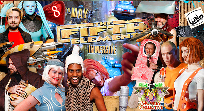 3505 MONKEY COLLECTIVE THE FIFTH ELEMENT IMMERSIVE SCREENING