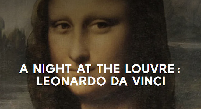 3612 AOS20: A NIGHT AT THE LOUVRE: LEONARDO DA VINCI EVENT