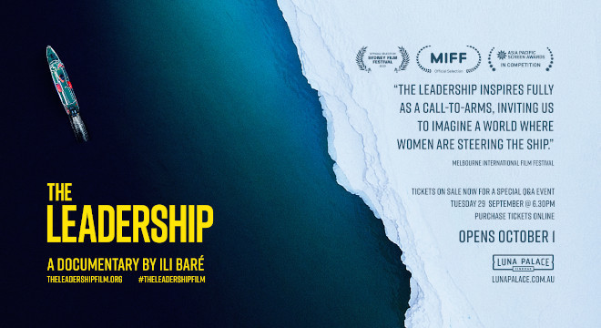 LEADERSHIP, THE - Q&A SCREENING - SOLD OUT