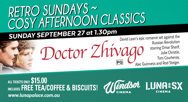 3652 DOCTOR ZHIVAGO ENCORE SCREENINGS