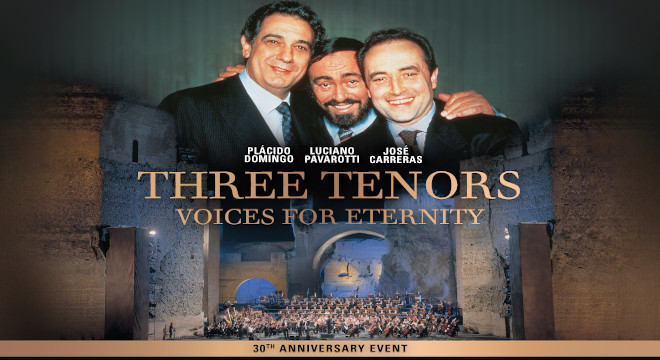 THREE TENORS VOICES OF ETERNITY OPENING EVENT