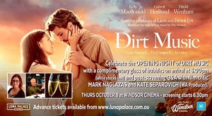 DIRT MUSIC: OPENING NIGHT Q&A EVENT SOLD OUT