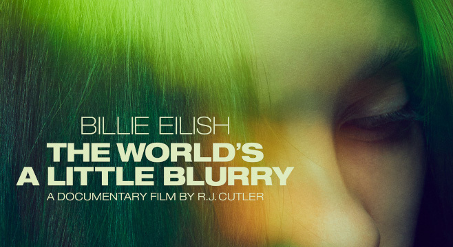 3928 Billie Eilish:The World's a Little Blurry