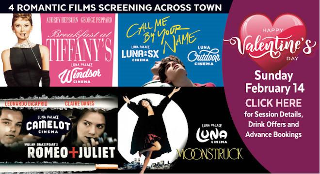 Valentine S Day Celebrations Film Luna Cinemas