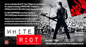 WHITE RIOT - LUNA OUTDOOR EVENT