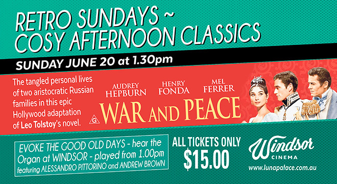 4133 RETRO SUNDAYS: WAR AND PEACE