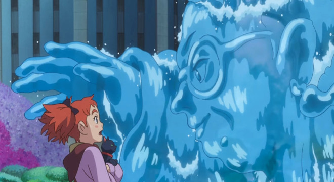 Mary & the Witch's Flower: Pre extras